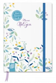 "Mein Mini-Notizbuch A6 ""live – love – teach"" – Edition Blumen"