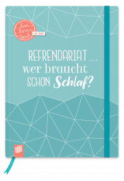 "Mein Notizbuch fürs Referendariat, A5, ""live – love – teach"""