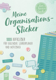 "Meine Organisations-Sticker ""live - love - teach"""