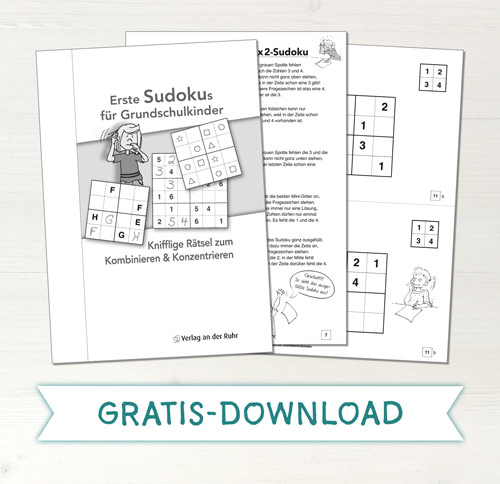 Gratis Download - Sudoku Grundschule