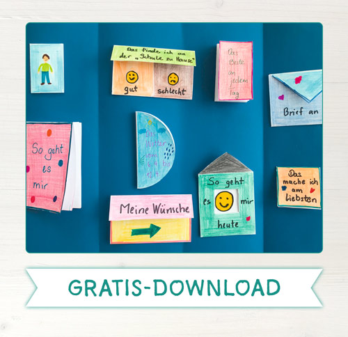 Gratis-Download Mini-Bücher für Lapbook & Co.