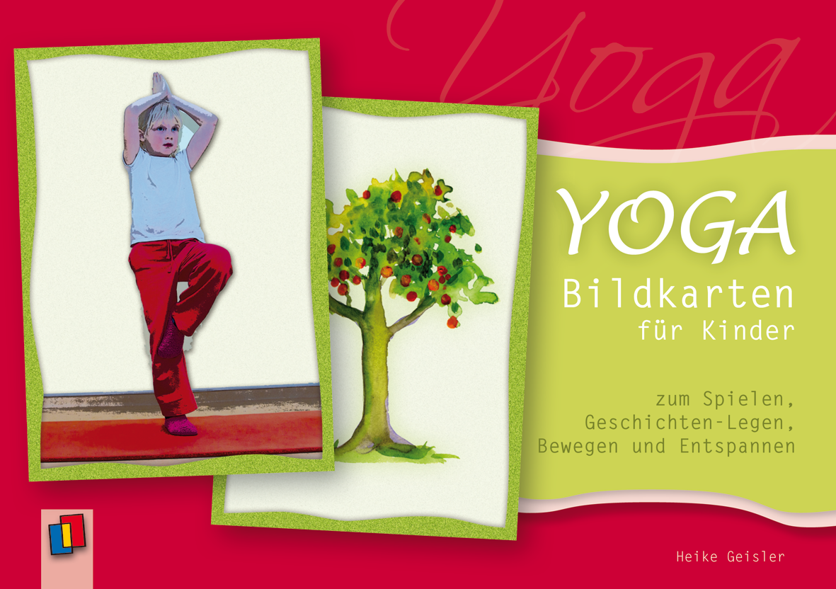 Yoga bildkarten f r kinder for Raumgestaltung yoga