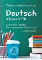 Vertretungsstunden to go - Deutsch - Klasse 9/10
